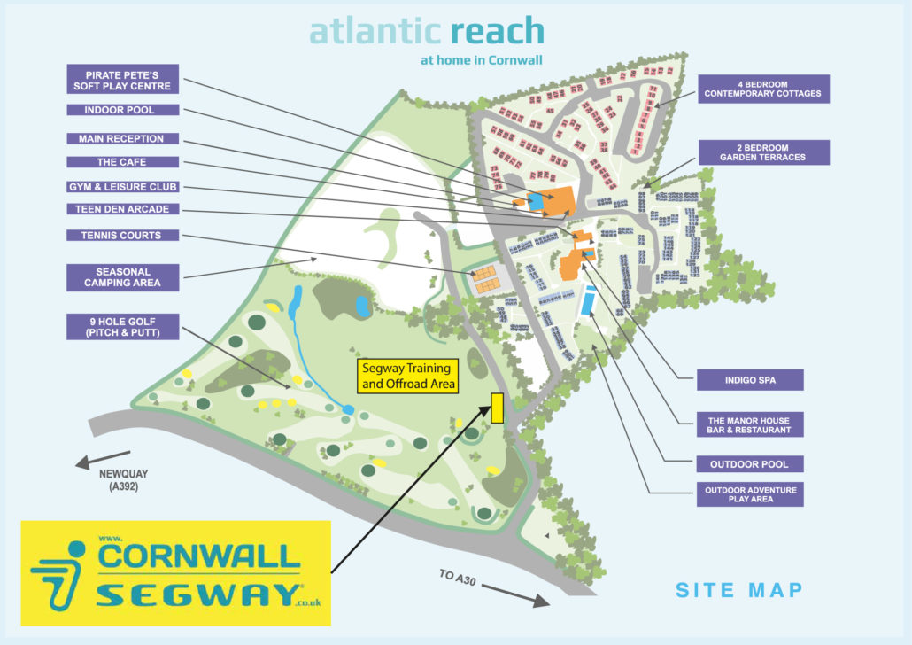 Cornwall Segway Map